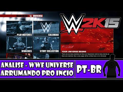 WWE 2K15 (PS4) - Analise - WWE Universe: Arrumando Tudo