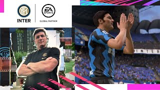 INTER x FIFA 21 | Win As One ft Javier Zanetti ⚫🔵🎮?? [SUB ENG]
