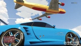 GTA V (5) Comet Airport Police Chase Gameplay