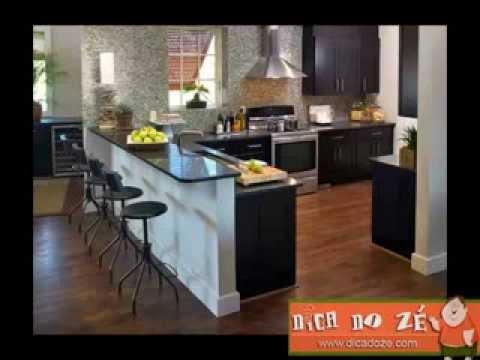 Cozinha Americana - Dica do Zé