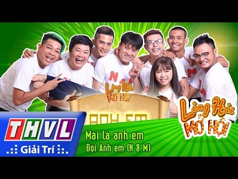 THVL | Làng hài mở hội – Tập 10: Mãi là anh em – Đội Anh Em (N &M)
