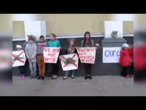 Slavyansk Ukraina.6.05.2014.Peace