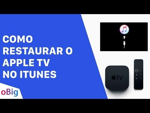 Como Restaurar o Apple TV no iTunes - oBig.com.br