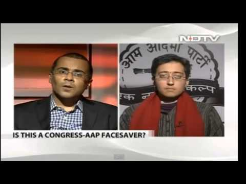 Chetan Bhagat - Reacting to AAP Drama