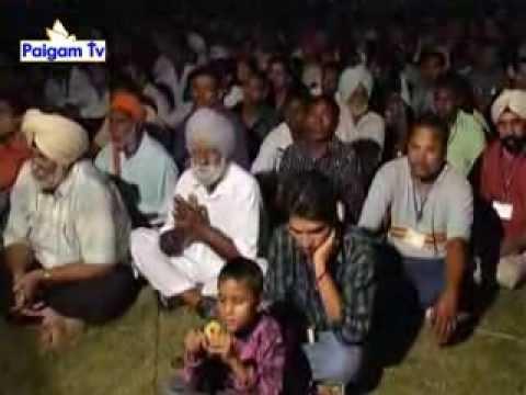 PAIGAM TV: Pastor Paramjit Singh in Mehatpur, Punjab (Part 1)