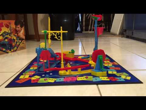1986 Mouse Trap game in action!