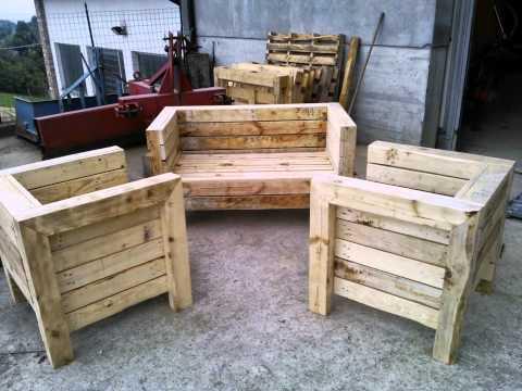 Costruire divano letto legno