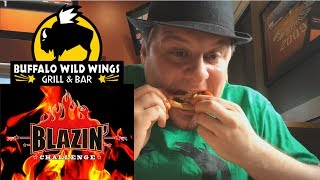 Buffalo Wild Wings Blazin' Wings Challenge