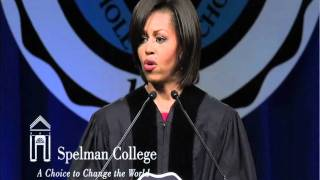 Michelle Obama Speech at Spelman's 2011 Commencement part 1/2