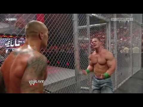 John Cena vs Randy Orton HELL IN A CELL 2014