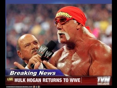 Hulk Hogan Returns To WWE 2014