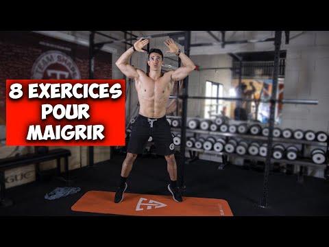 8 super exercices pour maigrir et perdre du poids !