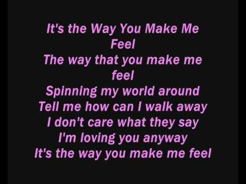 WOODIE - THE WAY YOU FEEL LYRICS