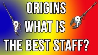 Origins Best Staff In The Game (Upgraded Fire Staff