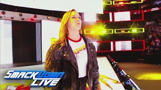 Relive Ronda Rousey's shocking arrival at Royal Rumble: SmackDown LIVE, Jan. 30, 2018
