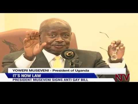 President Museveni signs Anti-Gay Bill