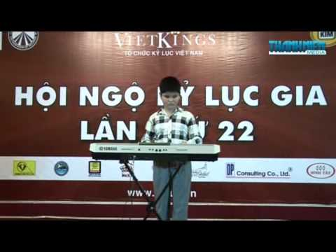 Kỷ Lục Gia Châu Á 2012 - Bùi Ngọc Thịnh 12 tuổi chơi được 7 nhạc cụ