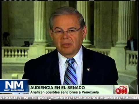 Audiencia en senado sobre Venezuela / Sen. Robert Menéndez