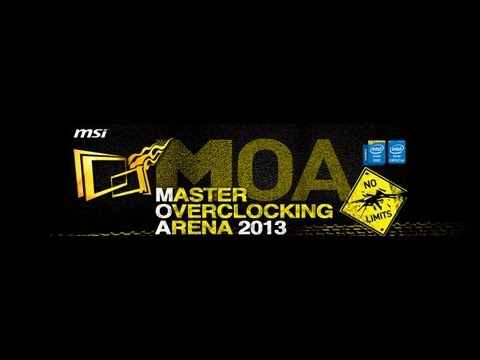 MSI Master Overclocking Arena 2013 Final - Live Broadcast by OverClocking-TV