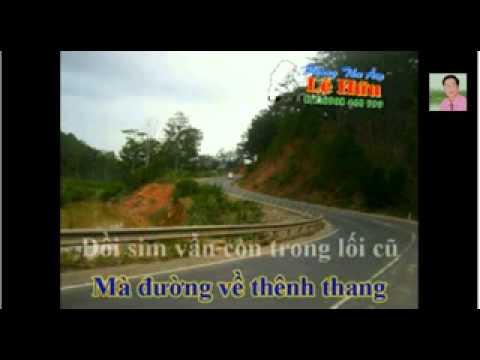 karaoke nhac song NHUNG DOI HOA SIM  thieu giong nam