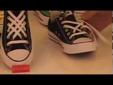 Hướng dẫn thắt dây giầy hình mạng nhện - Converse 21 Chùa Láng