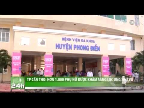 VTC14_TP Cần Thơ: Hơn 1000 phụ nữ được khám sàng lọc ung thư vú