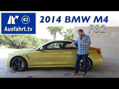 2014 BMW M4 Coupé (F82) - Fahrbericht der Probefahrt / Review / Test (German)