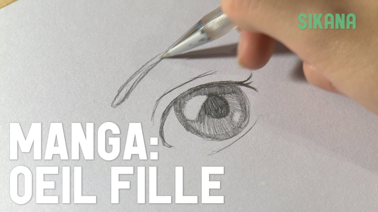 All comments on Manga : Comment dessiner un oeil de fille ? - HD ...