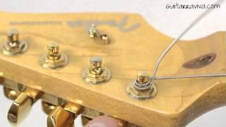 Cambiar las Cuerdas de la Guitarra Eléctrica