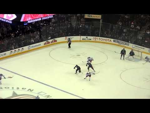 New York Rangers Carl Hagelin Empty Net Goal Against Columbus Blue Jackets 3/21/2014