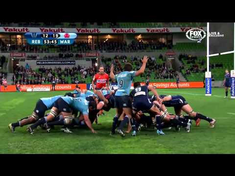 Rebels v Waratahs Rd.15 2014 | Super Rugby Video Highlights - Rebels v Waratahs Rd.15 2014 | Super R