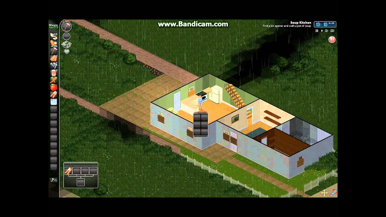 Project zomboid indie zombie survival game youtube for Zombie crafting survival games