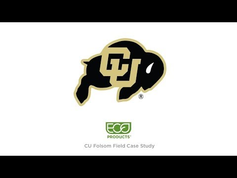 UC Boulder and EcoProducts Eliminating Waste at Folsom Field