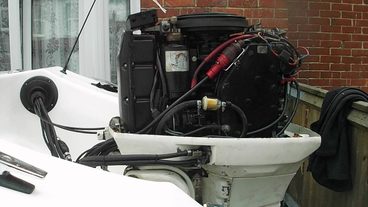 Johnson 60 Hp Vro   Outboard