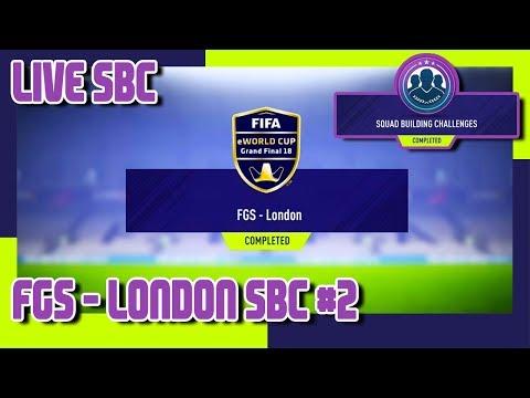 FIFA 18 - FIFA Global Series - FGS London SBC #2 & Pack Opening