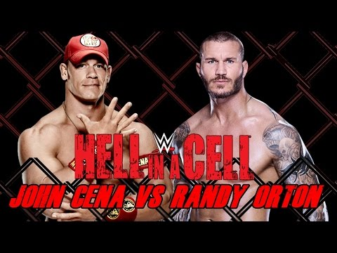 WWE Hell in a Cell 2014 - John Cena vs Randy Orton (Hell in a Cell Match) - WWE 2K14