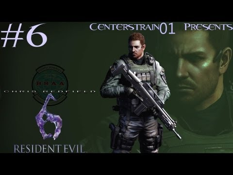 Resident Evil 6 Walkthrough Chris Redfield - Part 6 - Chapter 4 - I Can Fly A Plane