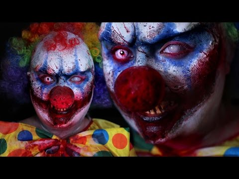 KILLER CLOWN | Halloween Costume Makeup Tutorial | 31 Days of Halloween | RawBeautyKristi