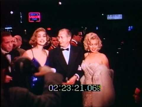 How to Marry a Millionaire Hollywood Premiere 1953 Marilyn Monroe Lauren Bacall Humphrey Bogart