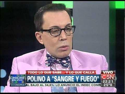C5N - ESPECTACULOS: MARCELO POLINO EN CHICHE EN VIVO