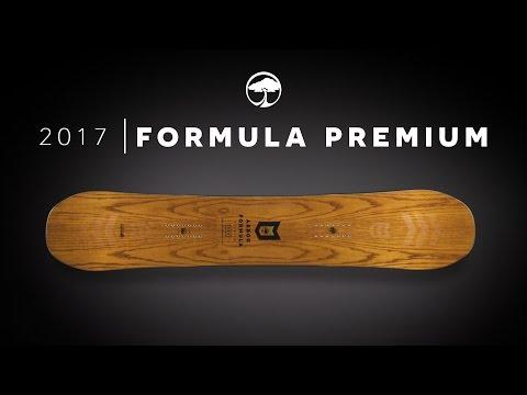 Arbor Formula Premium Snowboard 158