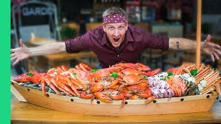 66 POUND SEAFOOD BOAT CHALLENGE (World Record Attempt!)