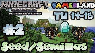 [Semillas/Seed] Respawn Y Diamantes Fáciles Minecraft
