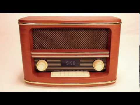 Handmade Retro Style Bluetooth Speaker & AM/FM Radio