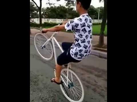Bốc đầu xe đạp đẳng cấp - Lò đào tạo bốc đầu xe đạp Đông Anh
