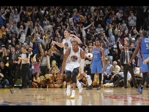 Taco Bell Buzzer Beater: Andre Iguodala vs The OKC Thunder