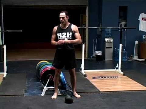Basic Kettlebell Swing, Part I, Jeff Martone