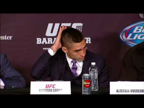 UFC 169: Post-fight Press Conference