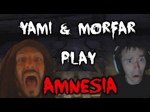 Scary Games - Amnesia Silent Hallways w/ Morfar