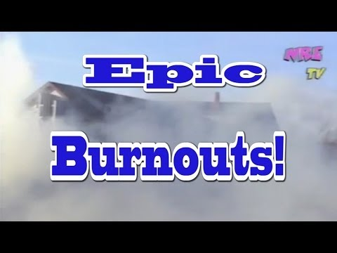EPIC Burnouts!  LOL!  Awesome Crazy Cars & Vehicles from Nelson Racing Engines!  Episode 212.